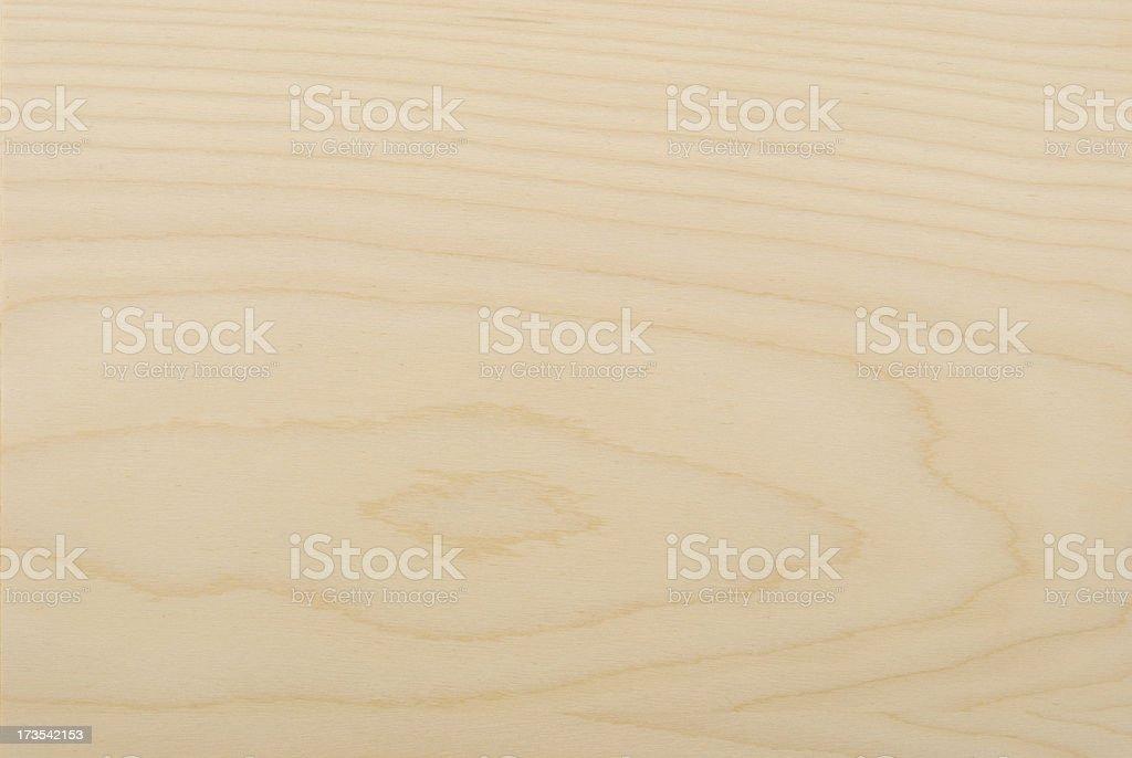 Wood pattern series. Finnish beech veneer royalty-free stock photo