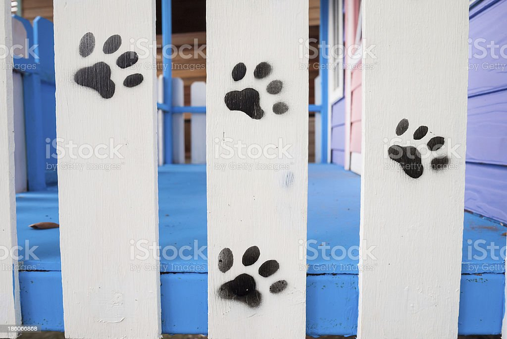 Wood patterns for dogs. royalty-free stock photo