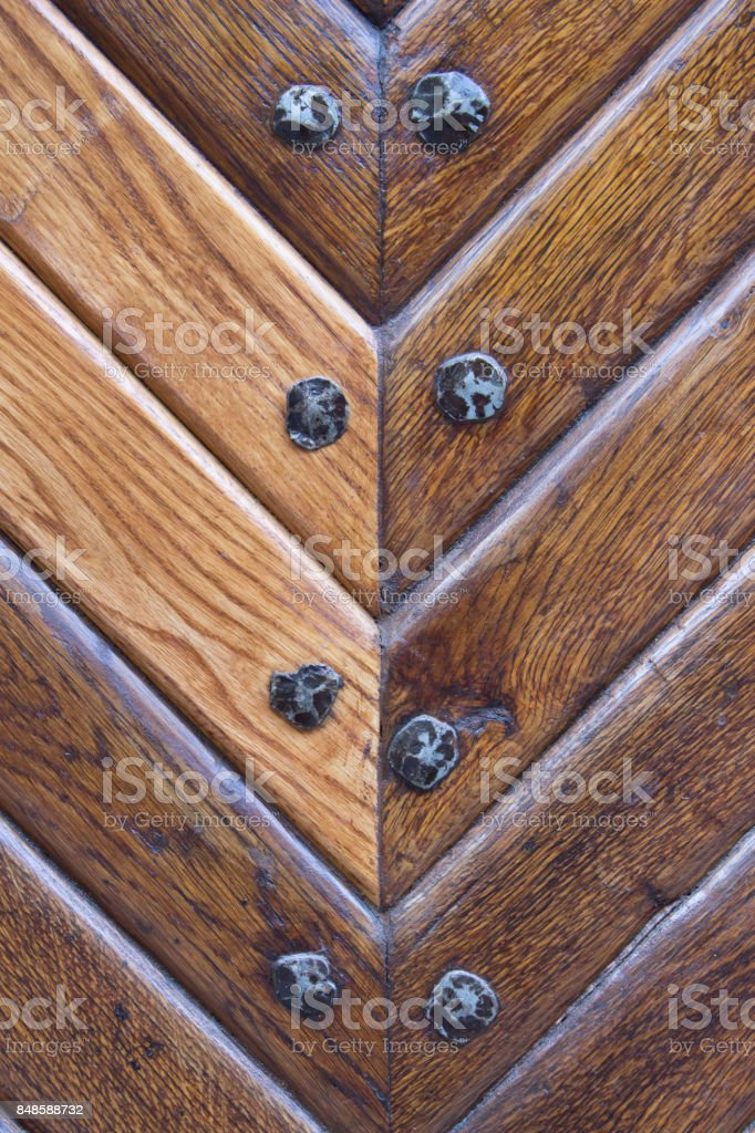 Wood plank brown texture background.vintage stock photo