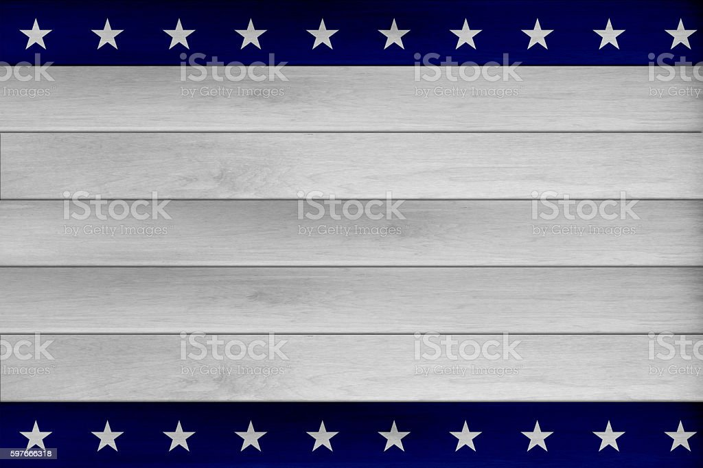 USA wood planks background stock photo