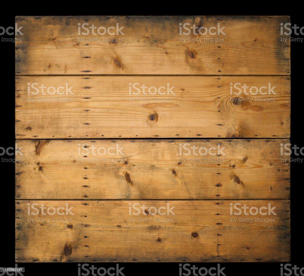 Wood planks on black royalty-free stock photo