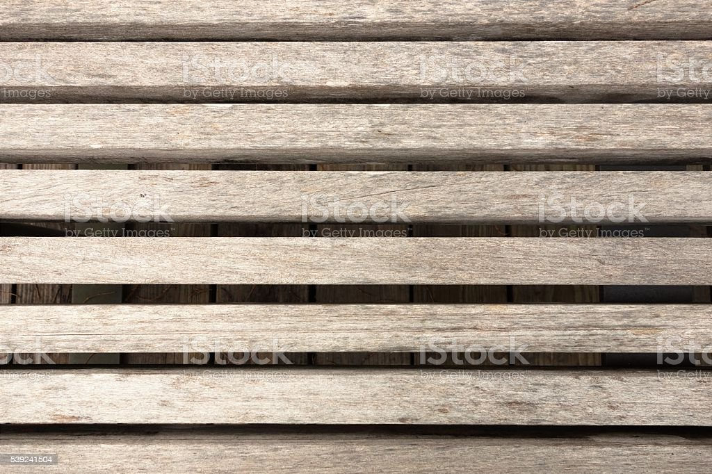 Wood planks on edge background stock photo