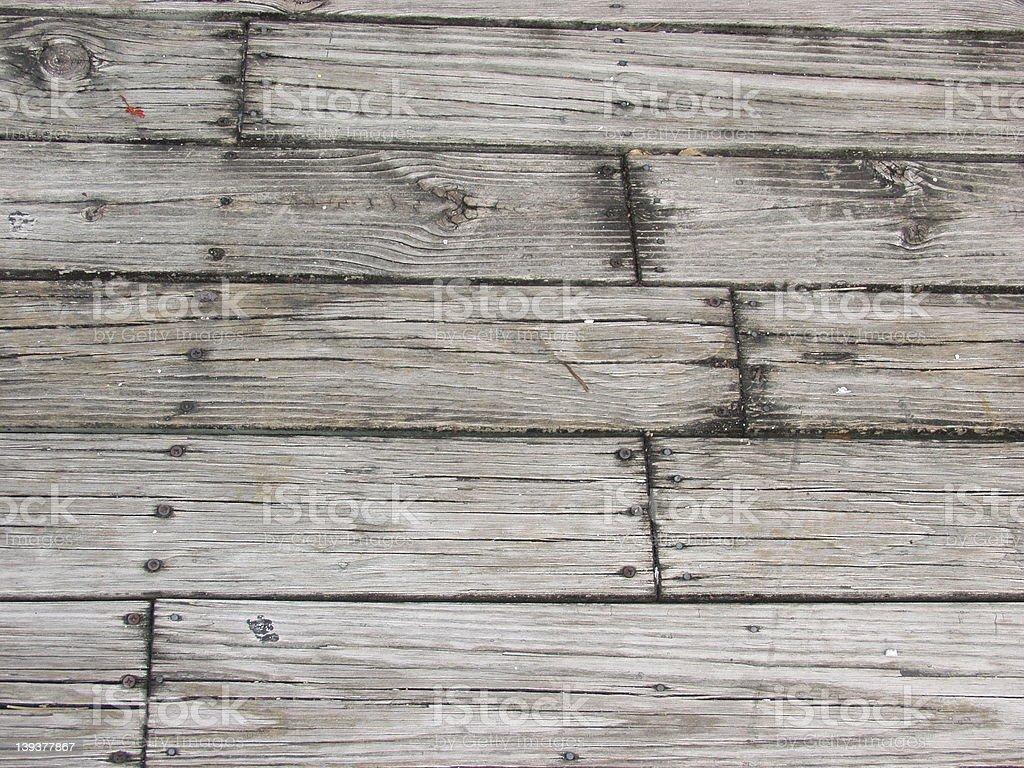Wood - Porch Floor stock photo