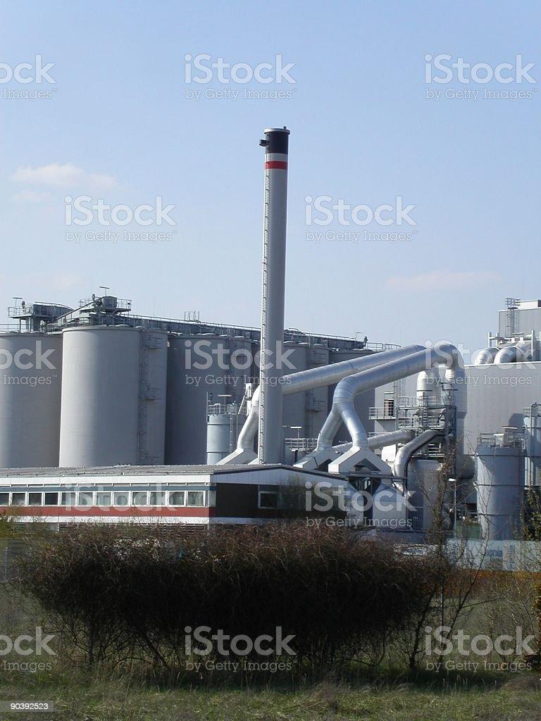 wood power plant royalty-free stock photo
