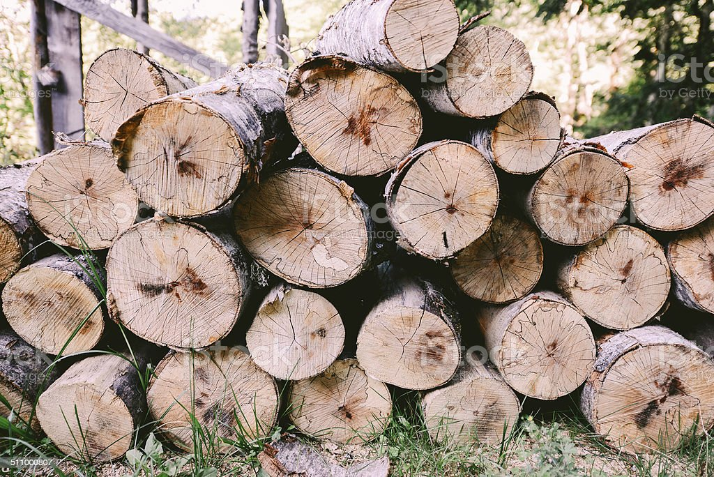 Wood preparation royalty-free stock photo