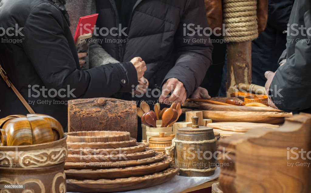Wood products stock photo