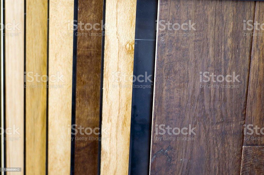 Wood Samples 1 royalty-free stock photo