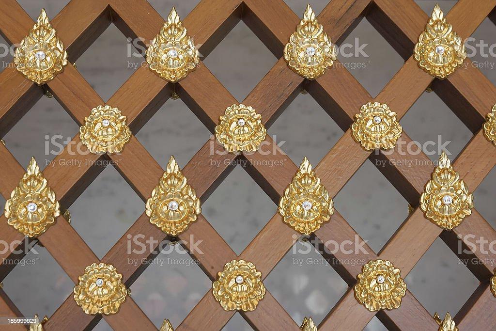 Wood Screen Pattern royalty-free stock photo