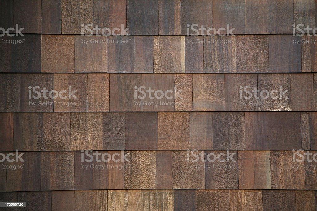 Wood Shingles royalty-free stock photo