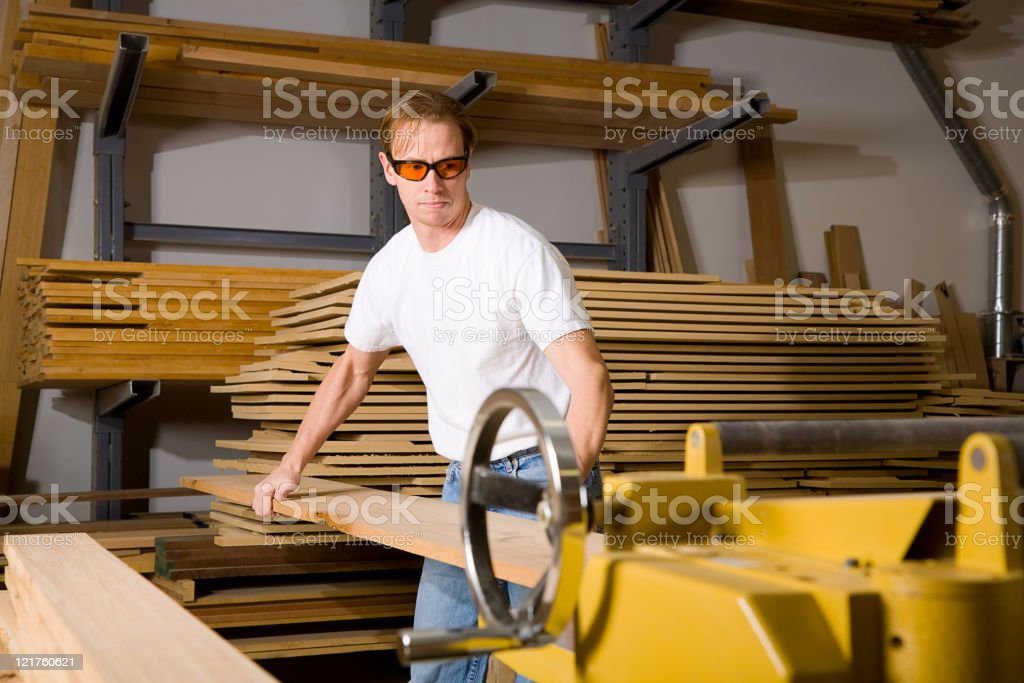Wood Shop Series royalty-free stock photo