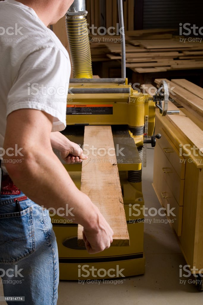 Wood Shop Series stock photo