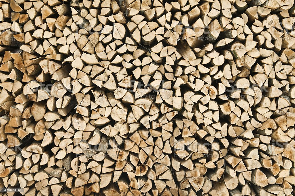 wood stack texture royalty-free stock photo