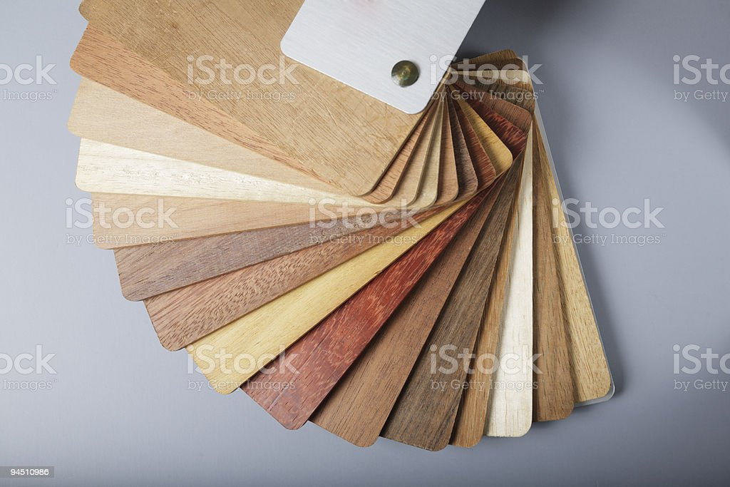 wood swatch royalty-free stock photo