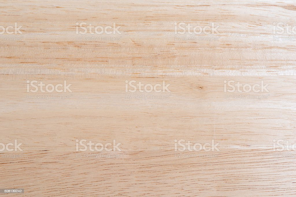 Wood table top illuminate with natural light stock photo