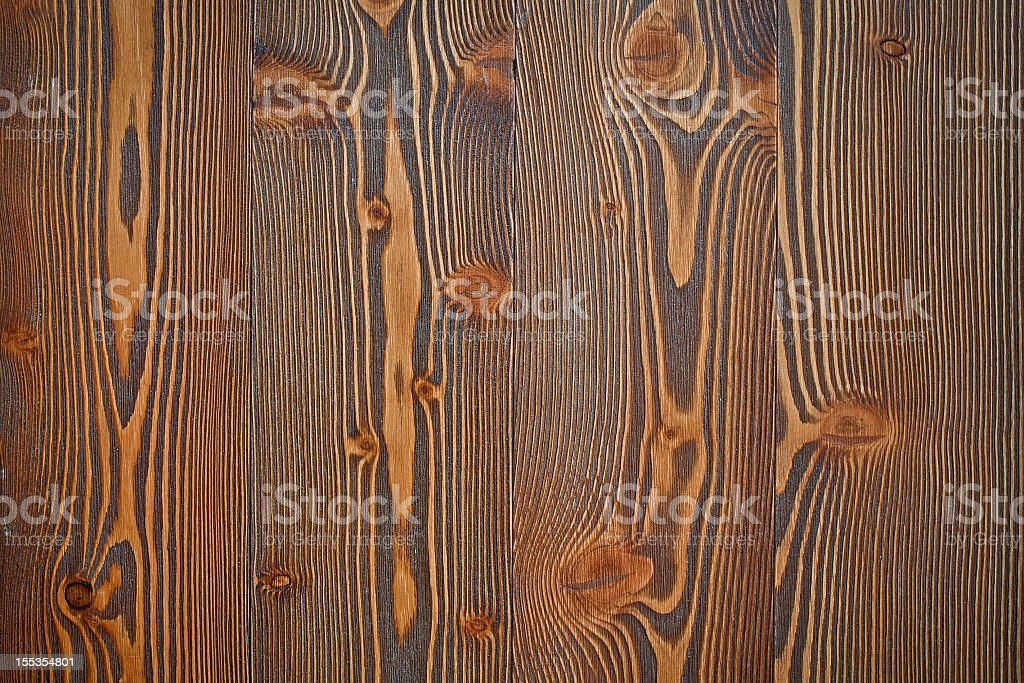 Wood texture: Aged larch royalty-free stock photo