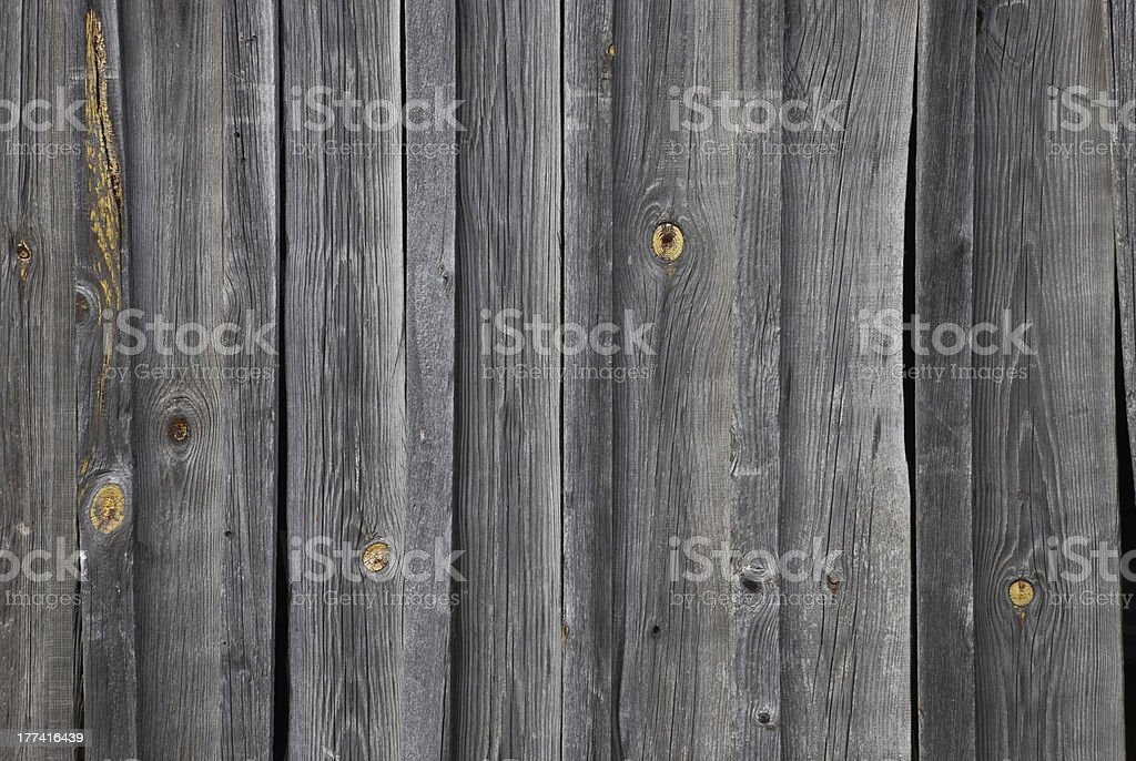 Wood texture from old barn royalty-free stock photo