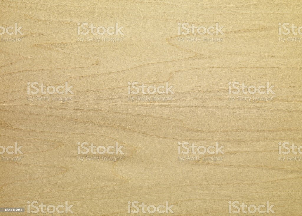 Wood Texture - Hard Maple royalty-free stock photo