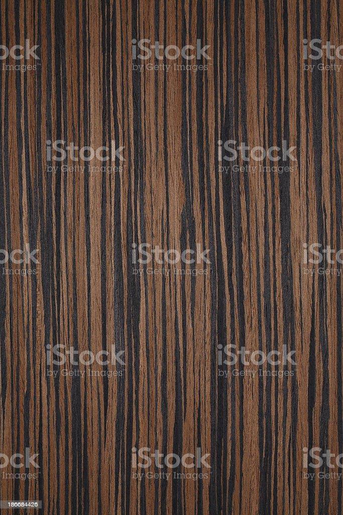 Wood texture - Makassar / Ebony royalty-free stock photo