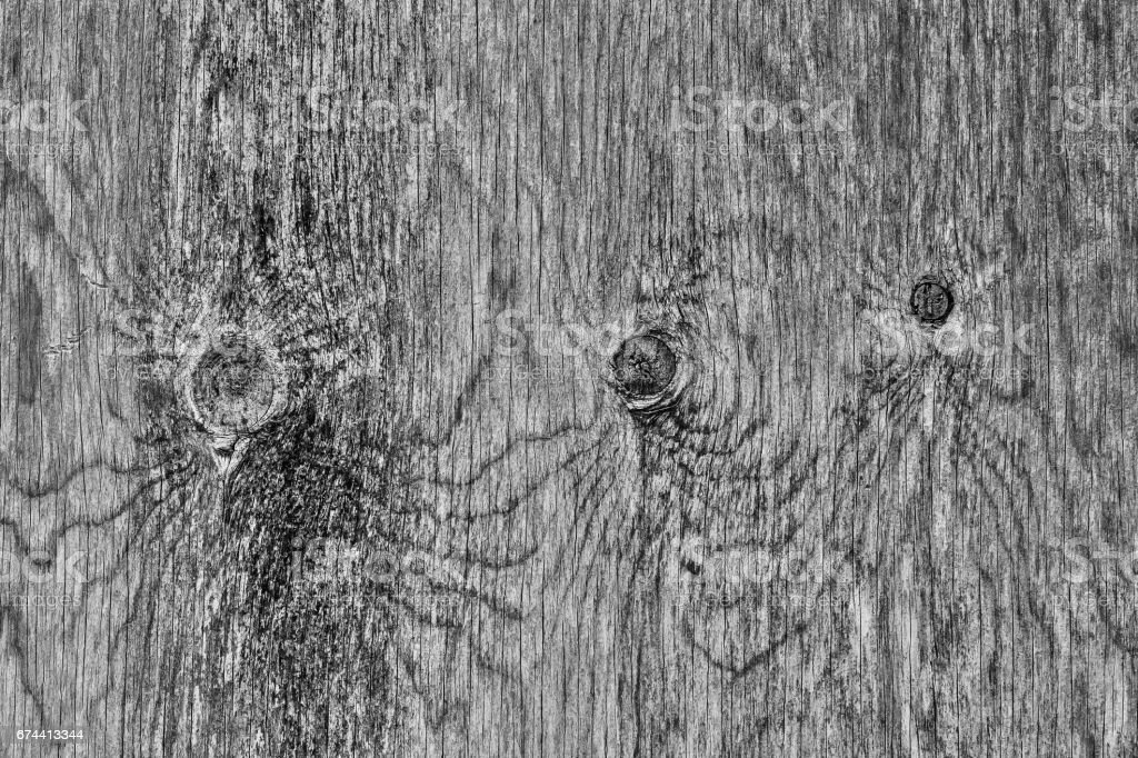 Wood texture very old black and white stock photo