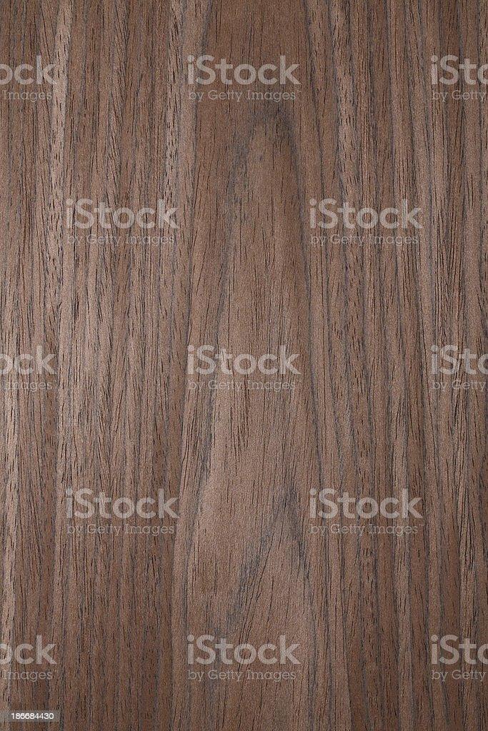 Wood texture - Walnut royalty-free stock photo
