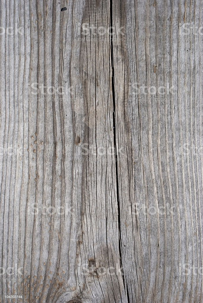 Wood texture with a split down the middle royalty-free stock photo
