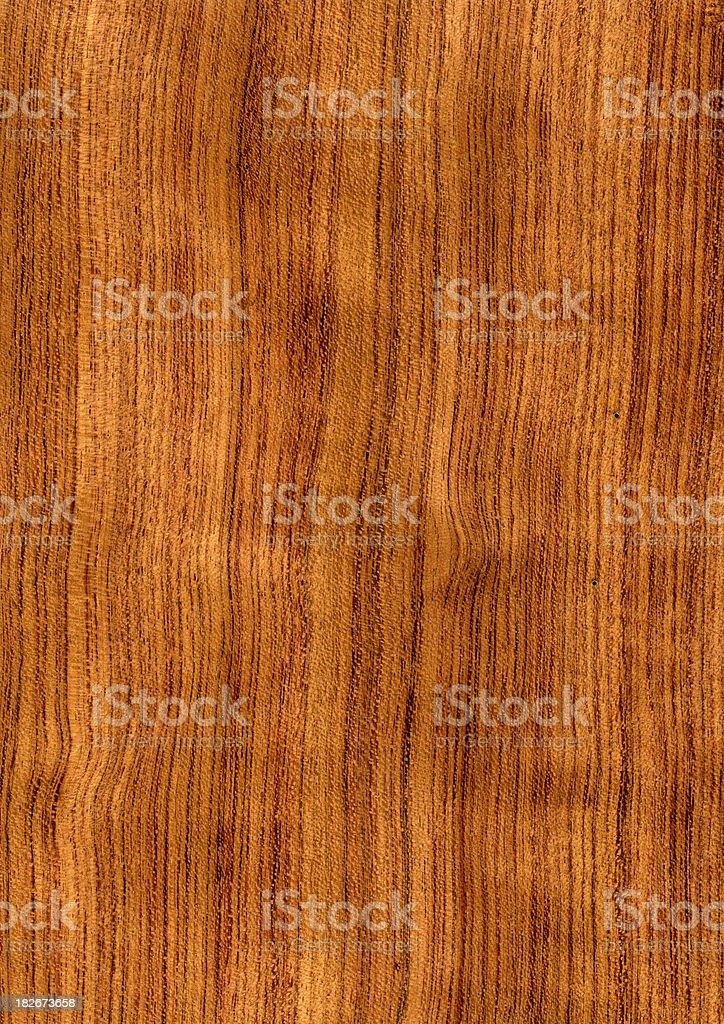 Wood Texture (Bubinga) XXL royalty-free stock photo