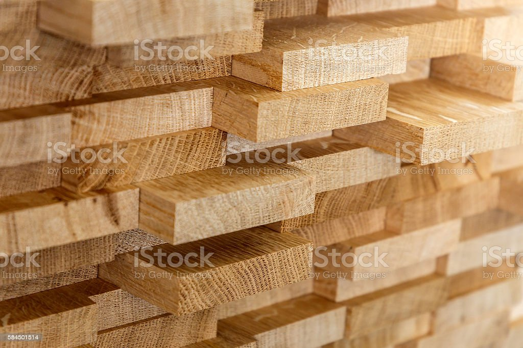 Wood timber construction material for background and texture. stock photo