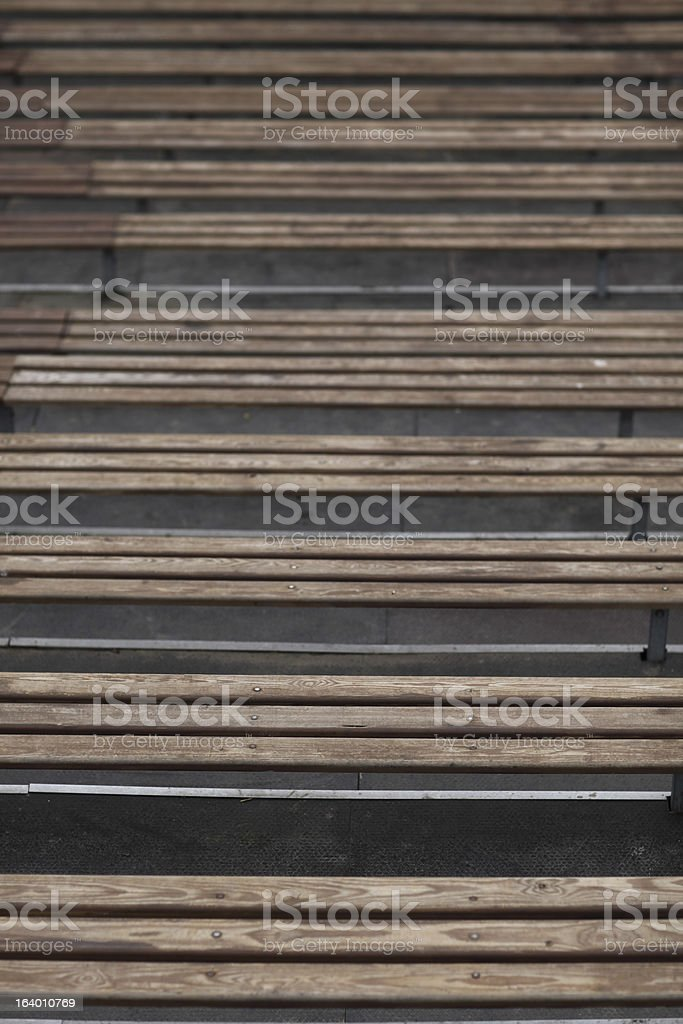 Wood Tribune royalty-free stock photo