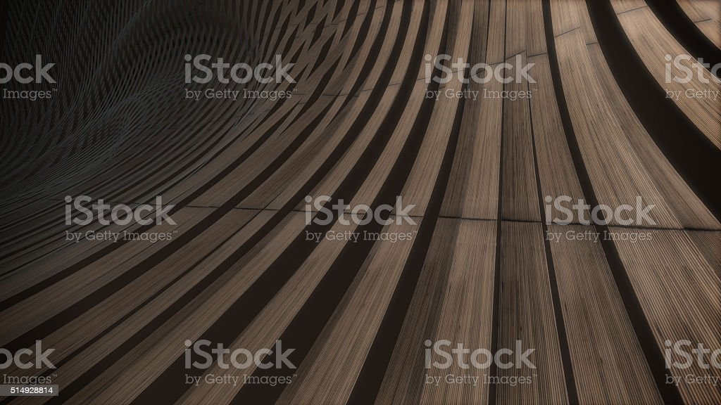 Wood weave 3D abstract background pattern royalty-free stock photo