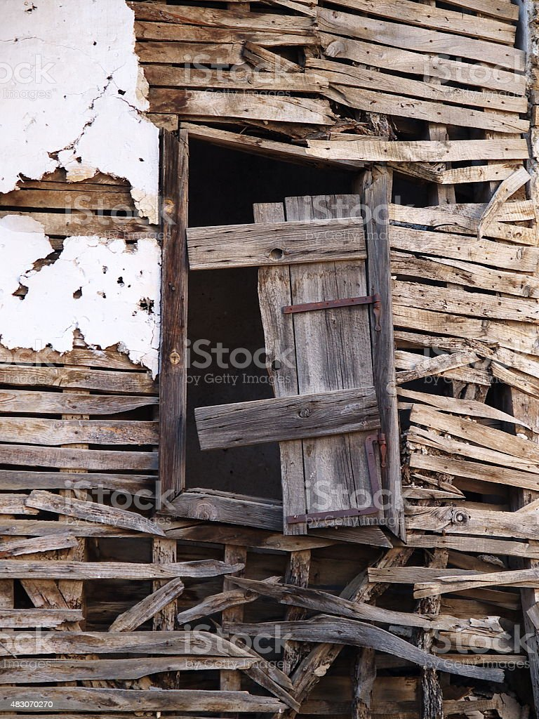 wood window royalty-free stock photo