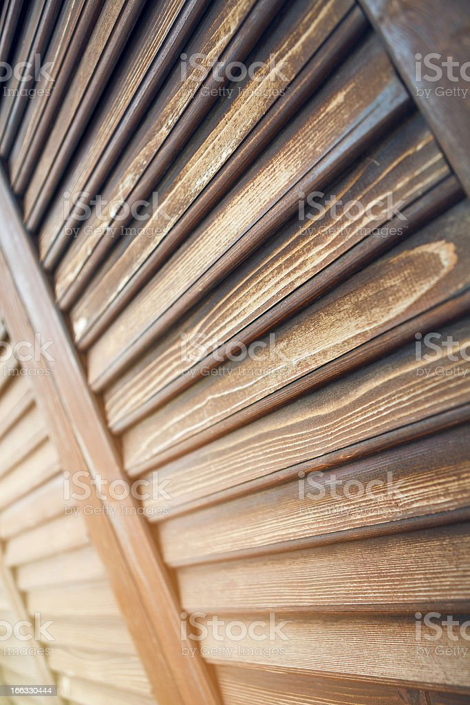 wood window with sunlight stock photo