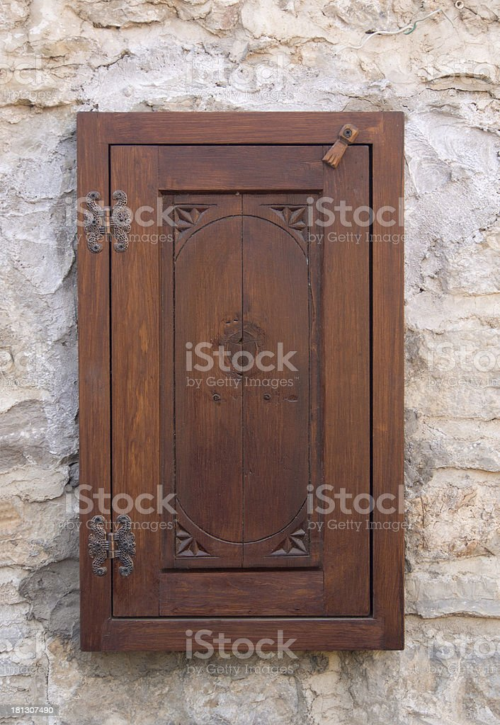 Wood, Windows royalty-free stock photo