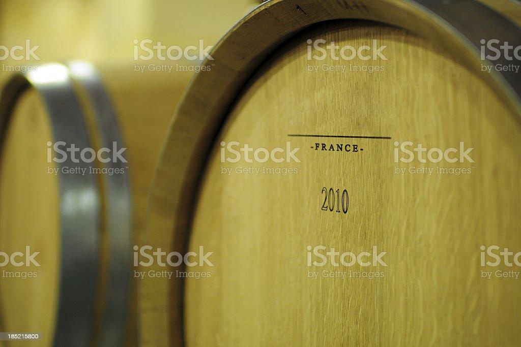 Wood Wine Barrel - XLarge stock photo