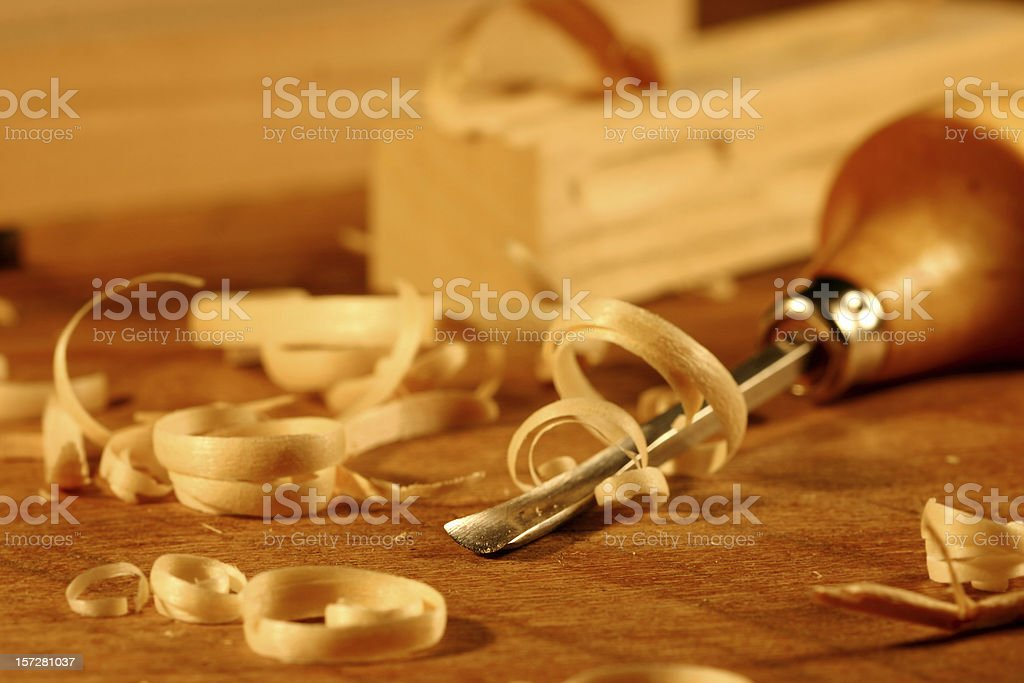 Wood working royalty-free stock photo
