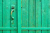 Wooden Antique fence gate