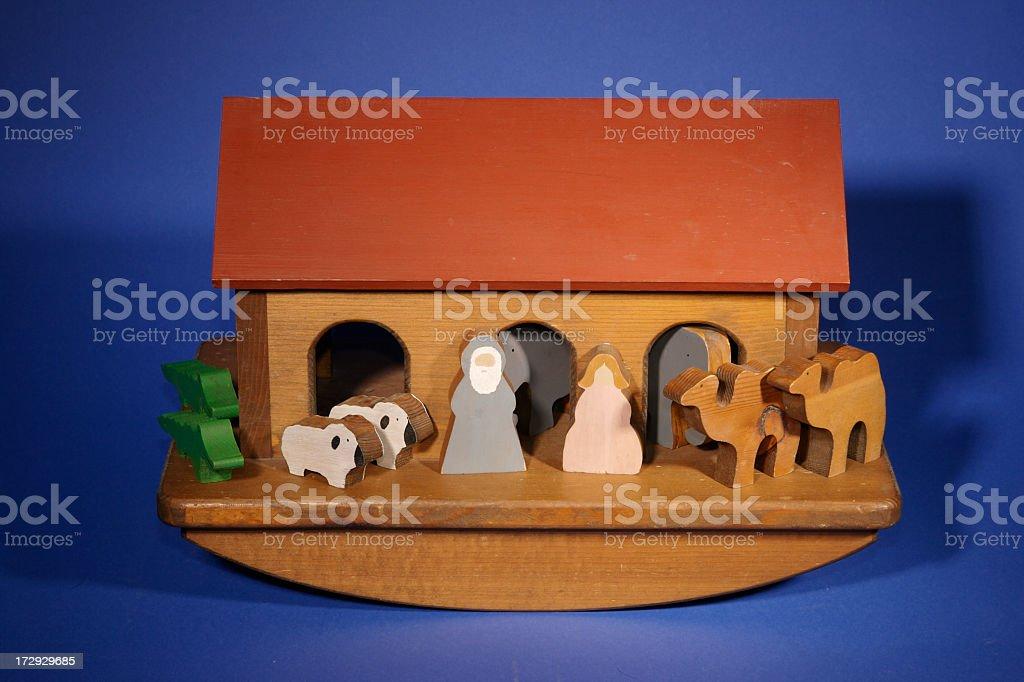 Wooden Ark stock photo