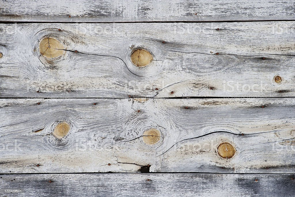 Wooden Background Old Natural worn wood knots royalty-free stock photo