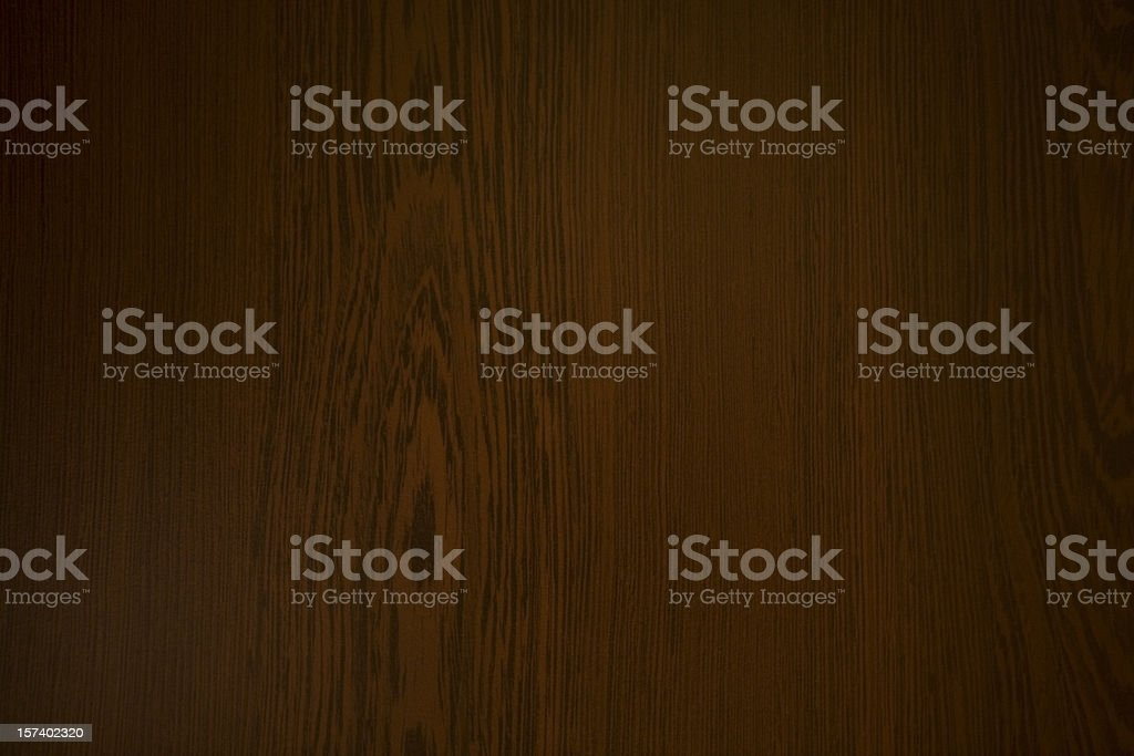 Wooden background showing knotted grain in wood royalty-free stock photo