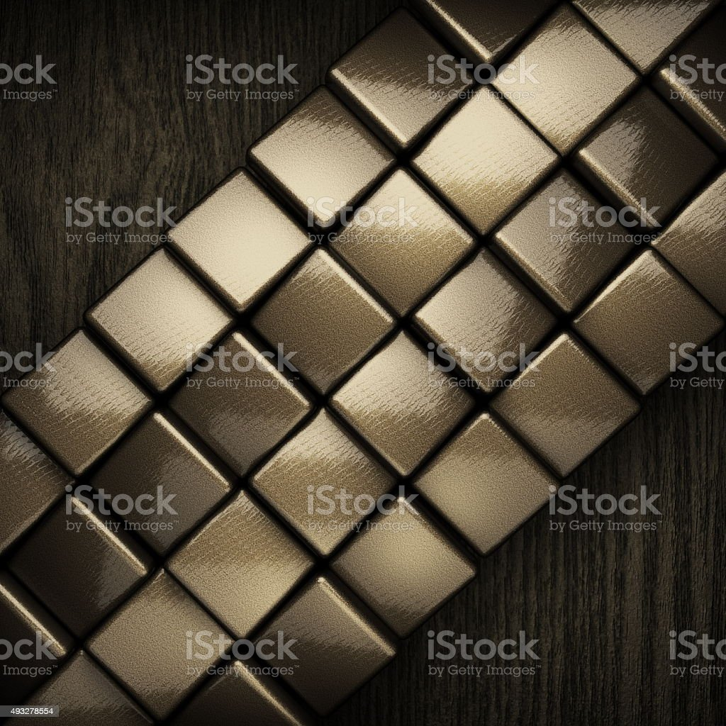 wooden background with metal element stock photo