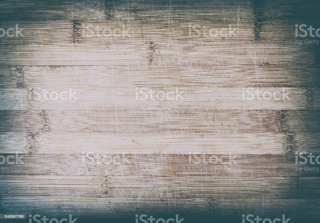 Wooden bamboo Texture with scratches stock photo