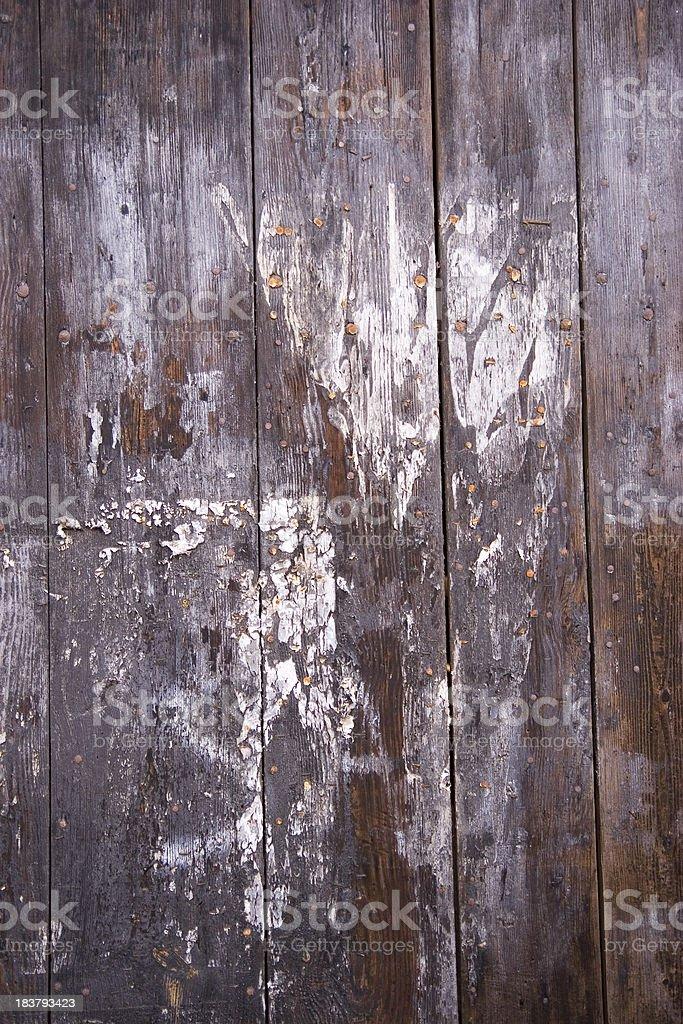 Wooden Barn Wall royalty-free stock photo