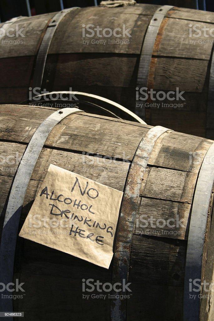 wooden beer barrels borough market london uk royalty-free stock photo
