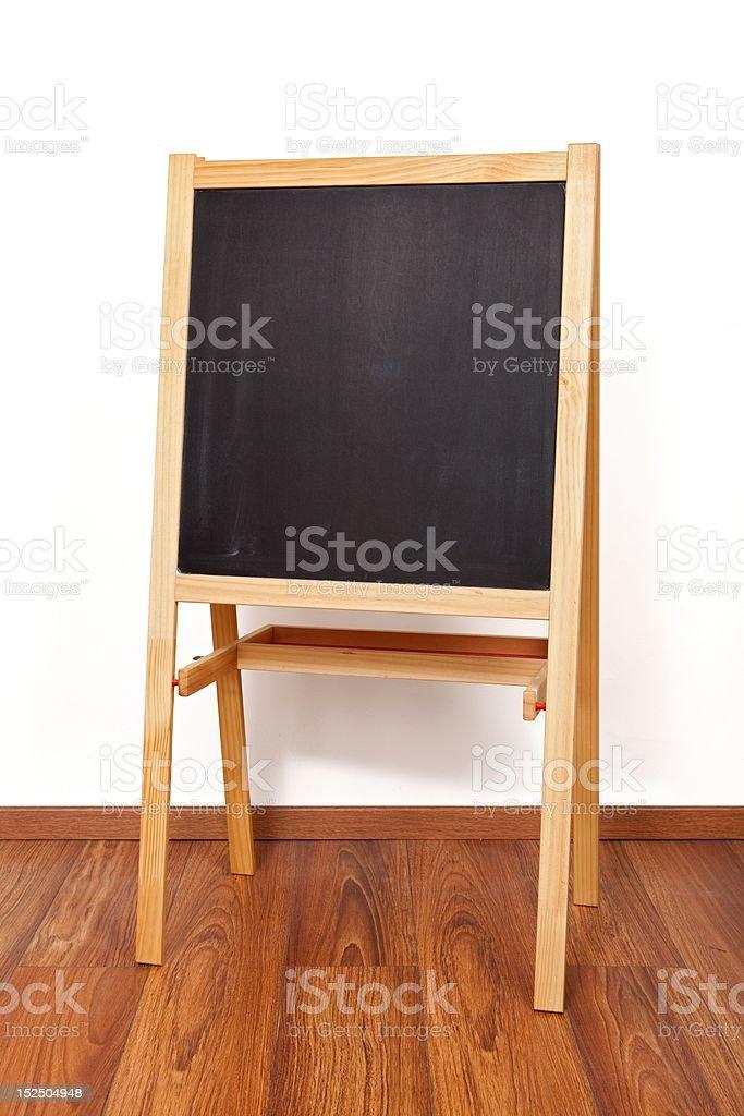 Wooden blackboard royalty-free stock photo