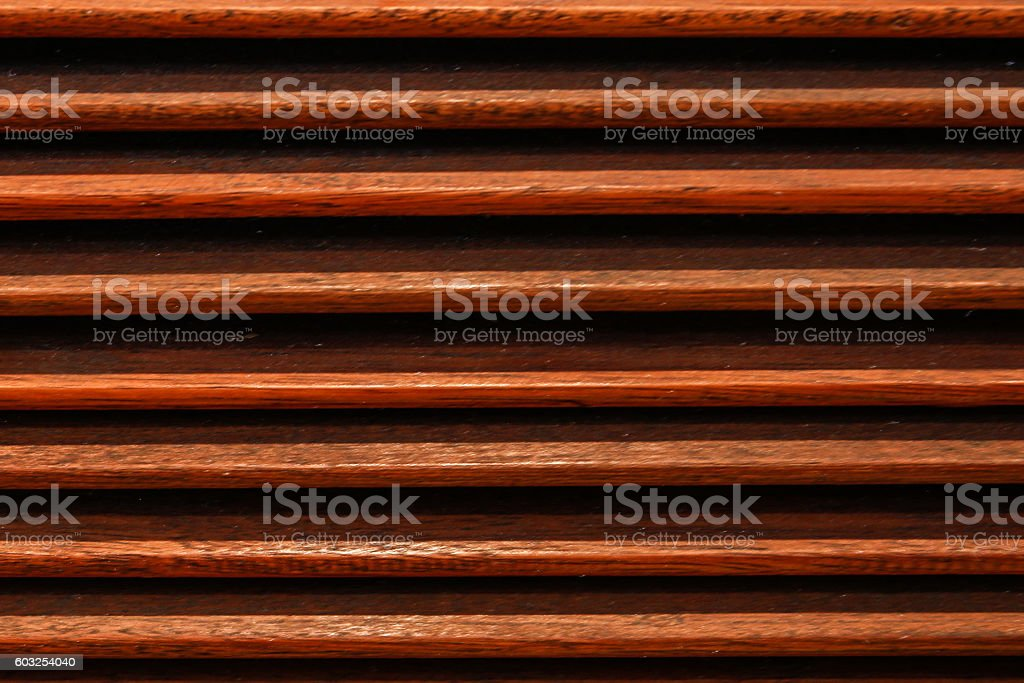 Wooden blinds seamless textured stock photo
