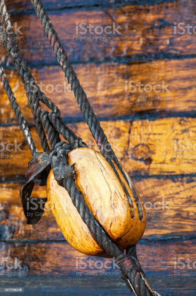 Wooden block royalty-free stock photo