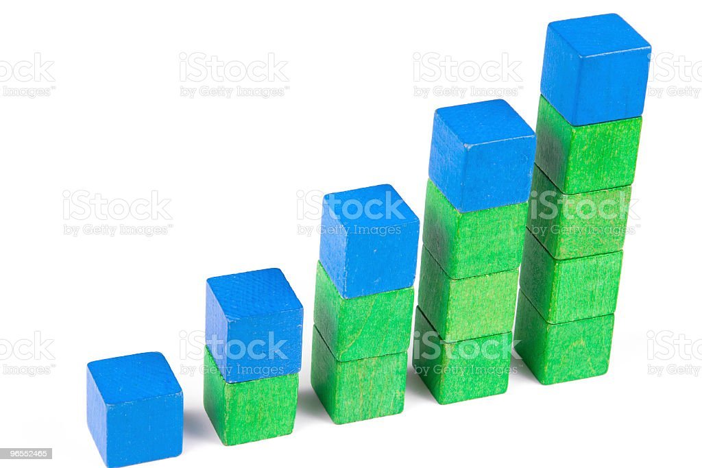 wooden blocks royalty-free stock photo