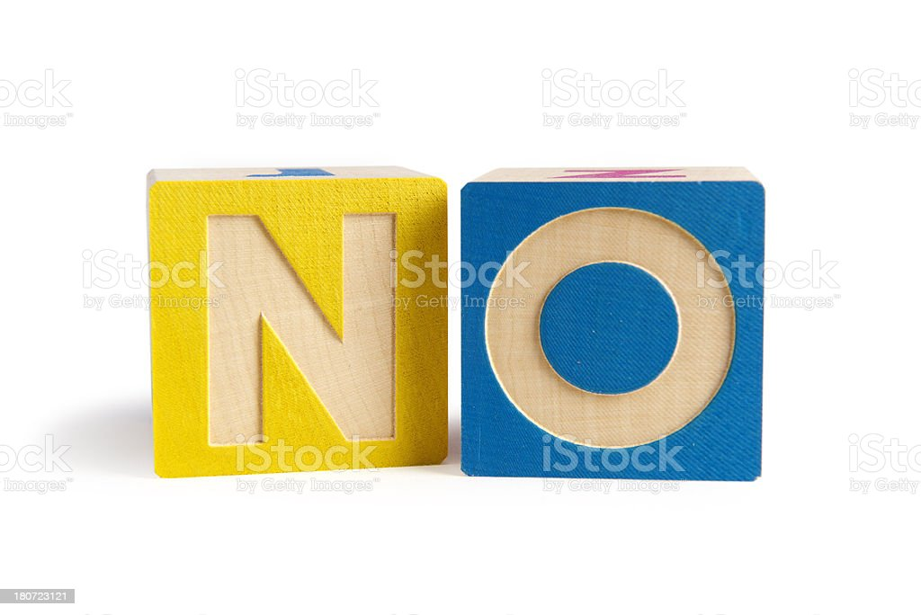 Wooden blocks with letters royalty-free stock photo