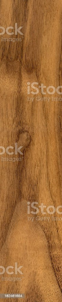 Wooden board on black background stock photo