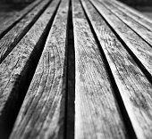 wooden boards in closeup