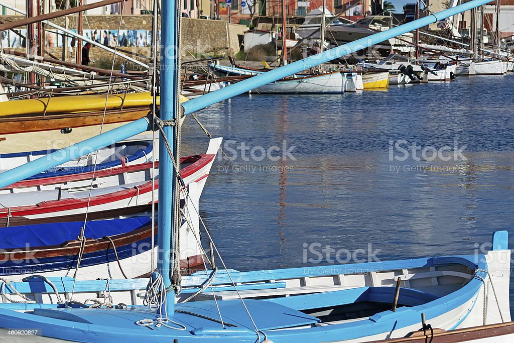 wooden boats royalty-free stock photo
